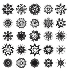 Tribal Rosette Tattoo Design vector