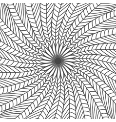 Abstract background made of feathers vector
