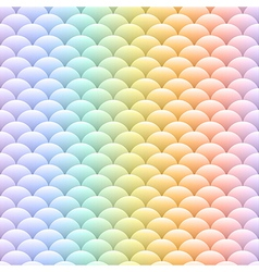 Simple blobs colored pastel rainbow background vector image vector image