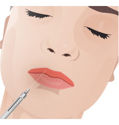 cosmetological procedure image vector image