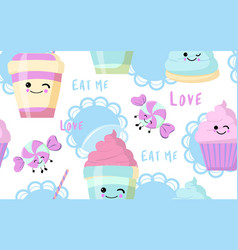 Cute background for instagram history vector