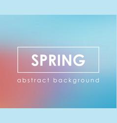 light color blue pink spring clear background vector image