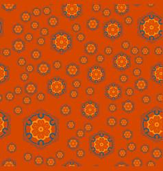 mandala geometric seamless pattern repeating vector image