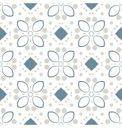 Seamless Vintage Color Pattern vector image