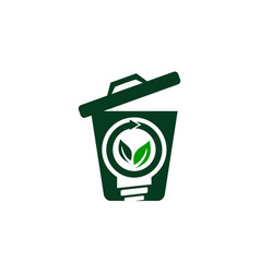 waste bag solution vector image
