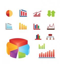 charts vector image