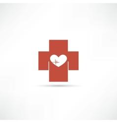 health icon vector image