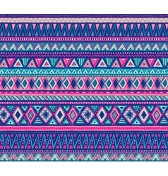 Colorful seamless pattern with hand drawn vector image vector image