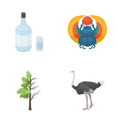 Alcohol forest and other web icon in cartoon vector