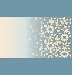 Islamic blue background vector