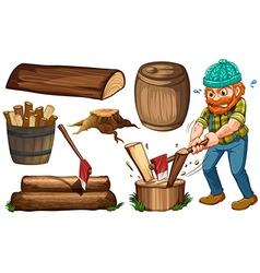 Lumber jack vector