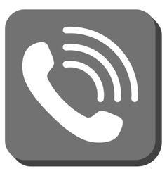 Phone Call Rounded Square Icon vector