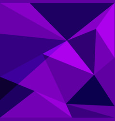 Purple low poly design element background vector