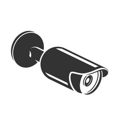 security video camera electronic home protection vector image
