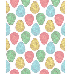 pattern eggs3 vector image