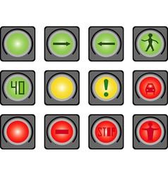 Traffic light vector image vector image