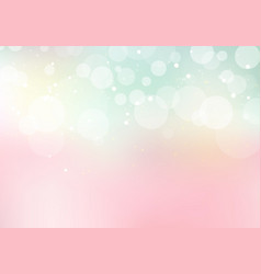 Abstract pastel sweet color blurred background vector