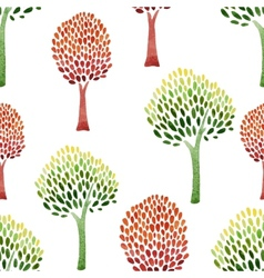 Abstract tree pattern vector image