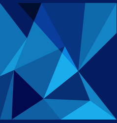 Blue low poly design element background vector