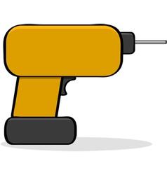 Cartoon drill vector