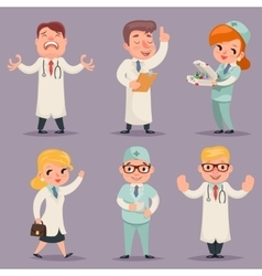 Doctor Different Positions and Actions Character vector