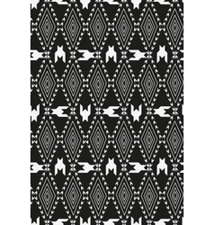 Houndstooth pied de poule seamless black and vector image