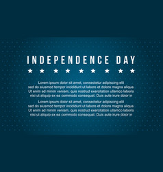 Independence day celebration background style vector