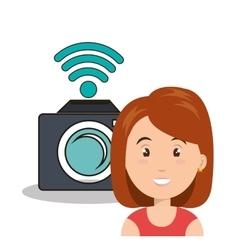 internet communication technology isolated icon vector image