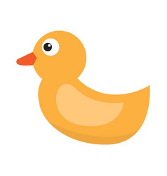 Isolated rubber duck vector