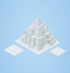Isometric iceberg vector