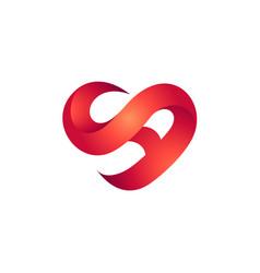 Letter s a logo vector