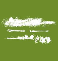 Paint streaks vector