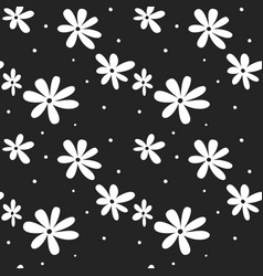Seamless flower pattern textile pattern floral vector