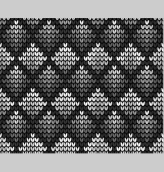 seamless squares black background vector image