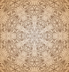 Abstract pattern in beige and brown vector image vector image