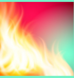 Abstract green pink fire background for your vector