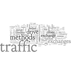 can i learn to drive traffic to my website vector image