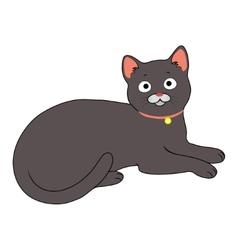 Charming cat vector