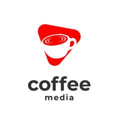 Coffee media vector