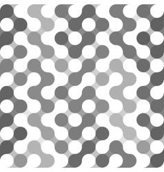Geometric pattern of circles vector