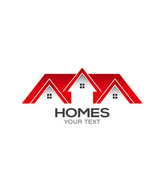 homes for sale logo design vector image