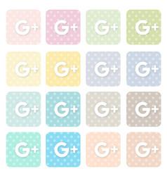 Icons-social3 vector