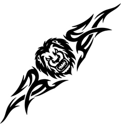 Lion and symmetric tribals - vector