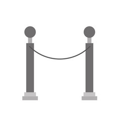 museum tape isolated icon vector image