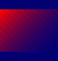 striped pattern diagonal paper cut red and blue vector image