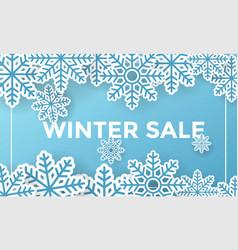 Winter social media post design template vector