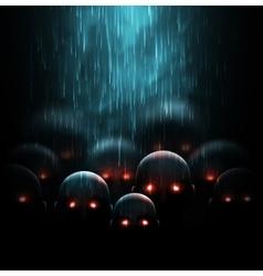 Zombie apocalypse vector image