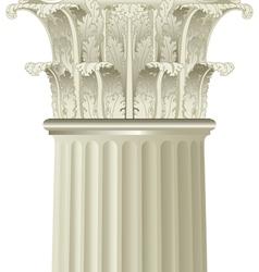 classic column vector image vector image