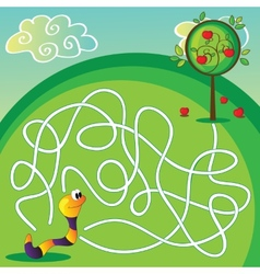 Maze for Children vector image vector image