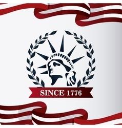 Statue of Liberty design vector image
